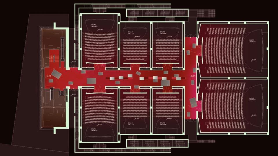 Piu Project In Use Ugc Multiplex Cinema Porta Di Roma